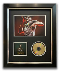 Stormzy Hand Signed Framed Cd Display - Heavy Is The Head - Music Autograph.