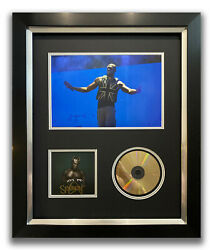 Stormzy Hand Signed Framed Cd Display - Heavy Is The Head - Music Autograph 3.