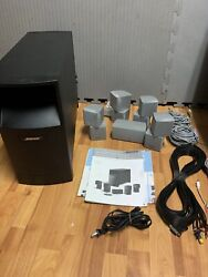 Bose Acoustimass 10 Series Iv Home Theater Speaker System - With Cables Manuals
