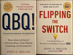 Qbq The Question Behind The Question And Flipping The Switch Lot John G. Miller
