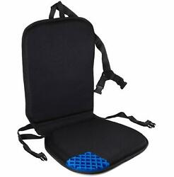 Premium All Gel Orthopedic Seat And Back Cushion Pad, Upper Lower Back Support