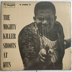 Cover Only Mighty Killer - Shoots At Hits Port O Jam Studio 1 Reggae Lp 33rpm