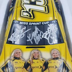 Lionel 2013 Miss Sprint Cup Nascar 124 Scale Limited X3 Autographed 1 Of 1164