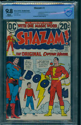 Shazam 1 Cbcs 9.8 Double Cover High Grade White Pages
