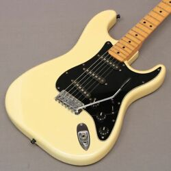 Fender1979 25th Anniversary Stratocaster Pearl White Mod - From Japan