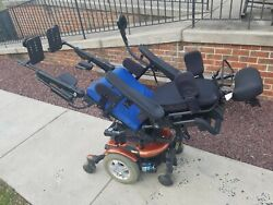 Quantum 600 Power Chair With Attendant Control. Fully Reclines