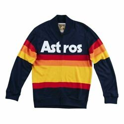 Mens Mitchell And Ness Mlb Authentic Sweater Houston Astros