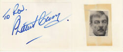 Shaun Curry Signed Autograph Book Page English Actor Star Wars Blake's 7 Poldark