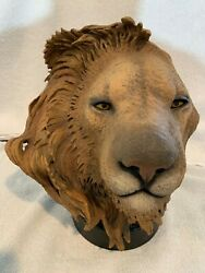 Rick Cain Sculpture Limited Edition 1324/2500 Taking The Lead Lion