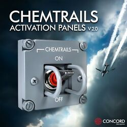 Chemtrails Activation Panel - Based On Apollo Command Module Switches