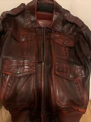 G Gator Leather Jacket Used But In Excellent Conditionsize 52
