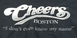 CHEERS bar BOSTON Vintage T Shirt M Haiti