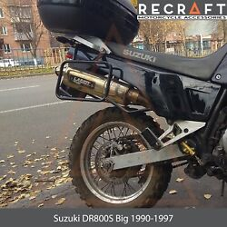 Recraft Suzuki DR800S Big 1991 1997 Side Carrier Luggage Mount for soft bags $137.00