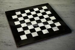 3'x3' Black Marble Square Dining Chess Table Top Interior Home Décor Gifts H002e