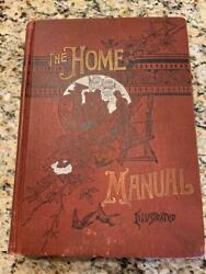 Antique Cookbook Recipies Victorian Cookery Home Manual Family Vintage Household