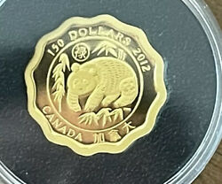 Canada 150 Gold Coin Blessings Of Good Fortune 2012 Mintage 888 Panda