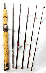 House Of Hardy Graphite De Luxe Spinning Smuggler Red-bindiing 7 215 Cm