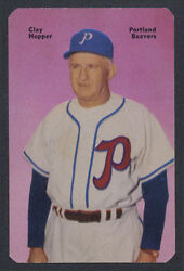 1952 Mothers Cookies Clay Hopper Mint Jackie Robinson Rookie Mgr Montreal Royals