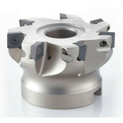 Osg 52901001 Indexable Face Mill, Hsk40 Series, 0.020 In To 0.120 In Depth Of