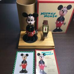 Mickey Mouse Watch Tin Doll Toy Set Disney 70th Anniversary Limited Edition