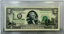 World Reserve Monetary Exchange 50 States 2003a Frn 2 Bill New Jersey