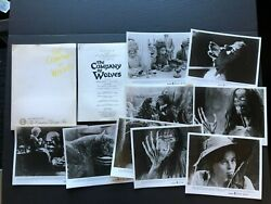 The Company Of Wolves 1984 - Movie Press Kit Envelope W/press Photos And News