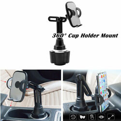 Adjustable Car Mobile Phone Water Cup Holder Mount Stand Cradle For Cell Phone