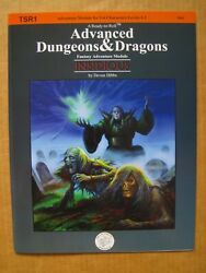 Dicecast Games Tsr1 Advanced Dungeons Dragons Insidious Signed Limited 10/15