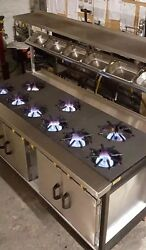 High Quality 9 Burner Cooker Solid Top Plate +2 Oven Very High Quality Uk Made