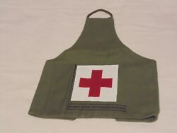 Dutch Army Field Medic Armband Andndash Training Olive Drab Andndash Used Excellent