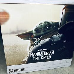 Sideshow Collectibles The Child Grogu Life-size Statue Nib Sealed Baby Yoda