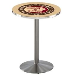 Holland Bar Stool Co. L214s3636indn-hd 36 Stainless Steel Indian Motorcycle