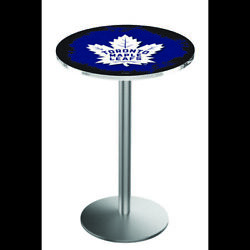 Holland Bar Stool Co. L214s3628tormpl 36 Stainless Steel Toronto Maple Leafs