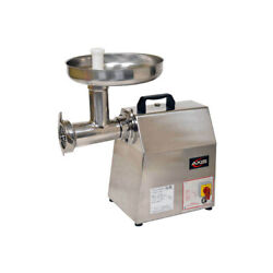 Axis Ax-mg22 Bench Model Electric Meat Grinder, 22 Hub, 530 Lbs. Productivit...