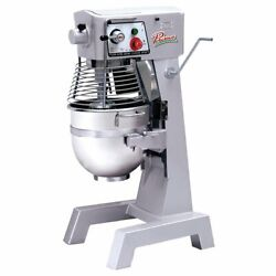 Primo Pm-30 Floor Model Commercial Planetary Mixer 30 Qt. Capacity 3-speed