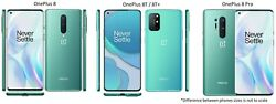 Oneplus 8 / 8t / 8 Pro 5g 128/256gb T-mobile Or Gsm Unlocked Android Smartphone