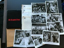 St. Elmoand039s Fire 1985- Movie Press Kit Envelope W/press Photos And News