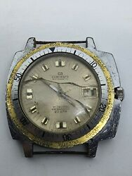 CONCERTA AUTO 21 JEWELS WATERPROOF 20 ATM SWISS VINTAGE FOR SPARE PARTS USE