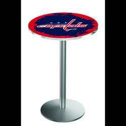 Holland Bar Stool Co. L214s3636wshcap 36 Stainless Steel Washington Capitals