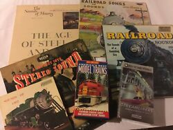 Railroad-model Trains-steam Songs-sounds- Vinyl-videos- Nice Collection