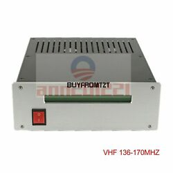 Fm Rf Radio Frequency Amplifier Vhf 136-170mhz For Rural Campus Broadcasting Tzt