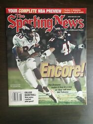 The Sporting News February 8 1999 - Super Bowl Rod Smith - Scottie Pippen A2