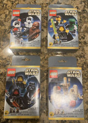 Rare 1999 Lego Star Wars Minifigures Set Of All 4