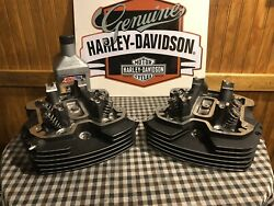 Harley Water Cooled M8 Heads Stage 1 Ported And Polished