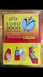 Panini Euro 2000 Sealed Box 100 Packs Of Stickers Totti Owen And More Rookie Card