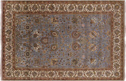 Traditional Hand-knotted Wool Rug 5and039 10 X 8and039 11 - Q6158