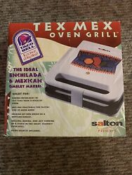 Rare Vintage Salton Taco Bell Tex Mex Oven Grill 1999 Hsn Press Mexican Omelet