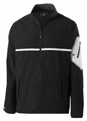 Holloway Menand039s Long Sleeve Front Reflective Weld Full Zip Jacket. 229543