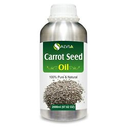 Carrot Seed Daucus Carota Pure Essential Oil 2000ml/67 Flz. Express Shipping