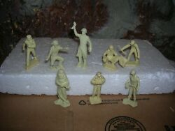 Marx 1960's Cape Canaveral 54mm Playset Figures Toy Soldiers White